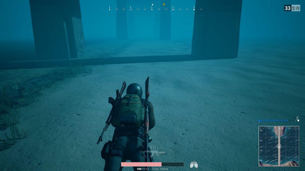 橋の下を泳ぐヘタレチキン