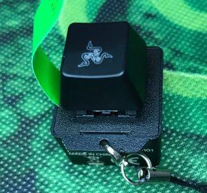 Razerのキートップのキーホルダー