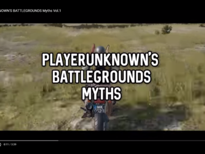 PUBGのテクニックや都市伝説を検証:PlayerUnknown's Battlegrounds Myths Vol.1