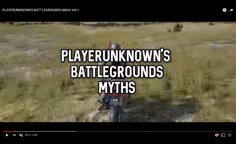 PUBGのテクニックや都市伝説を検証:PlayerUnknown's Battlegrounds Myths Vol.1