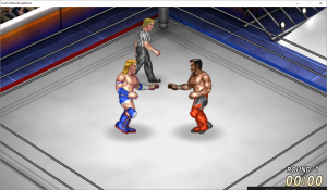 SWA公式ルールマッチのリング
