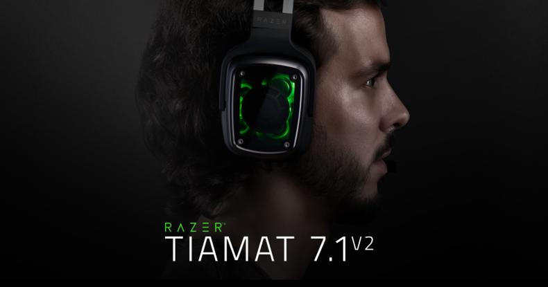 Razer Tiamat 7.1 v2 ヘッドセット