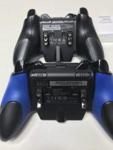 Xbox Elite ワイヤレス コントローラーとRazer Raiju