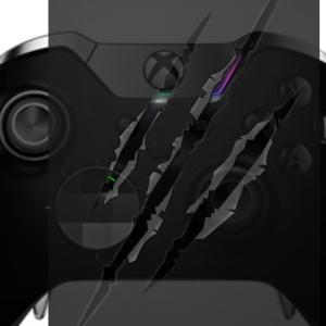 XBoxのロゴとアナログスティックの位置がぴったり