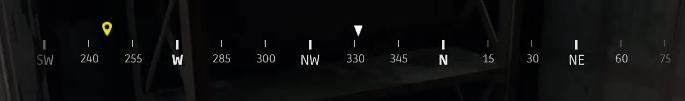方向と数字で敵の位置をチームに知らせる