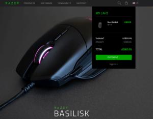 Razer BasiliskはRazerStoreで69.99ドルで販売中