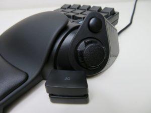 Tartarus V2のサム(親指)パッド周りのボタン