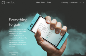 Nextbit Systemsのスマホ「ROBIN」