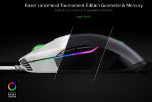 Razer Lanceheadの豊富なカラーバリエーション