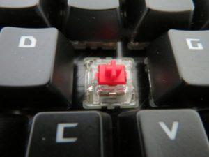 ROG Claymoreの赤軸(Cherry MX MX RGB)