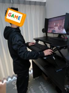 オンライン対戦型のFPSゲームはスタンディングゲームに最適