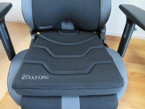 ゲーミング座椅子「バウヒュッテ LOC-950RR」での使用例