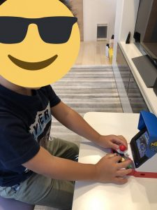 夏休み限定 4歳児のゲームセンター
