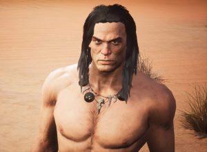 ゲーム冒頭で英雄コナンが登場 アーノルド・シュワルツェネッガーではありません…