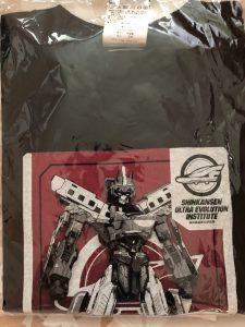 頑張って見つけた「シンカリオン」の子供用のTシャツ