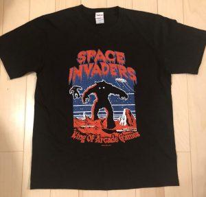 スペースインベーダー キングオブゲームス Tシャツ