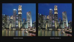 Razer PhoneとRazer Phone 2で撮影した写真の違い
