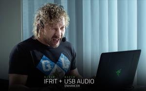 ゲーム実況者向けネックバンド型ヘッドセット:Razer Ifrit+Razer USB オーディオエンハンサー