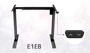 電動式昇降デスク脚「E1EB」