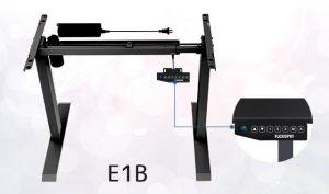 電動スタンディングデスク脚「E1B」