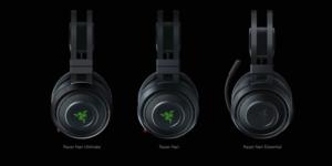 Razer Nariの3バージョンの外観比較