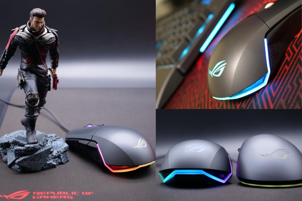 ASUS ROG Pugio:左右対称型の両手用ゲーミングマウス|ROGアンバサダーのレビュー