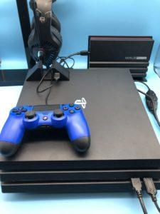 PS4横置き時のUSBハブとしても使用可能