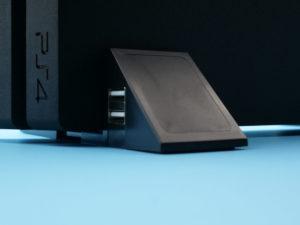 USBハブ付きアジャスタブル縦置きスタンド使用時の吸気スペース