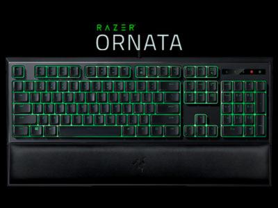 分かりにくいRazerゲーミングキーボードBlackwidow、Ornataを比較解説
